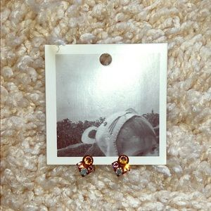 Anthropologie earrings - colorful studs